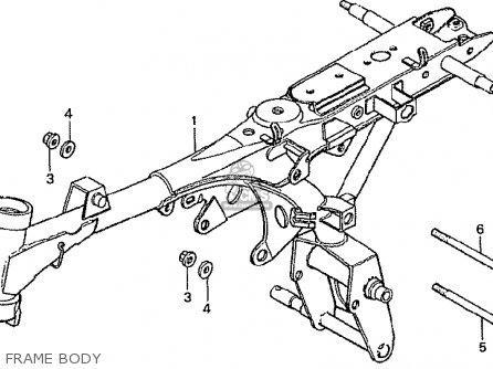 Honda Z50jx Gorilla Japan parts list partsmanual partsfiche