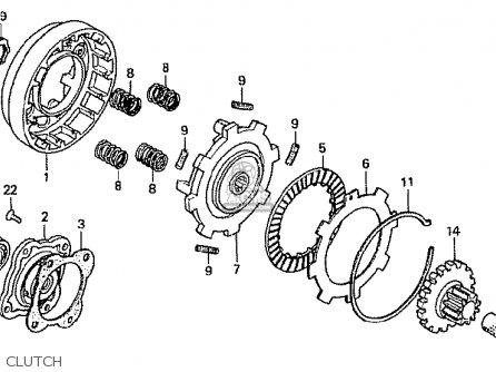 Honda Z50JY GORILLA JAPAN parts lists and schematics