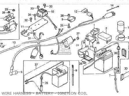 Honda Z50jz Monkey Australia parts list partsmanual partsfiche