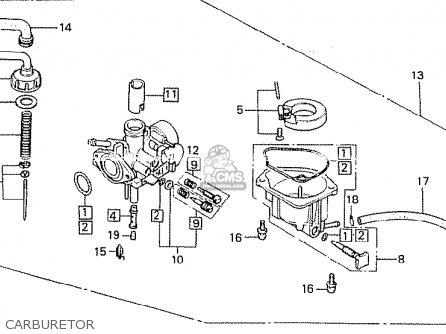 Honda Z50jz Monkey Germany parts list partsmanual partsfiche