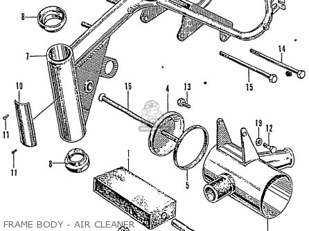 Honda Z50M MONKEY parts lists and schematics