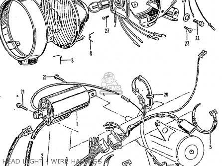 Honda Z50M MONKEY parts lists and schematics