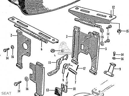 Honda Z50m Monkey parts list partsmanual partsfiche
