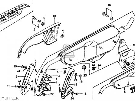 Honda Z50R 1980 (A) USA parts lists and schematics