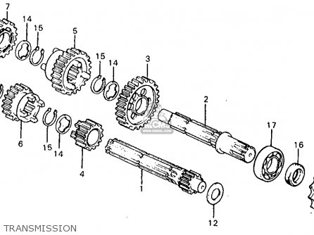 Honda Z50R 1980 (A) USA parts lists and schematics