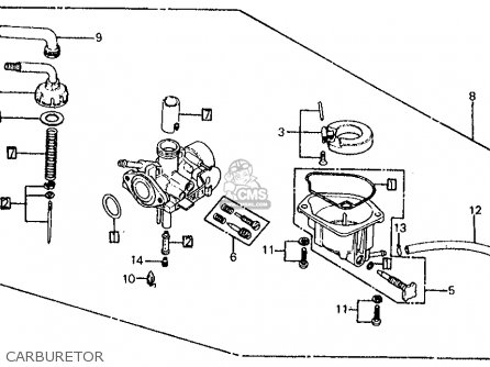 Honda Z50R 1982 (C) USA parts lists and schematics