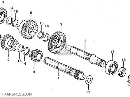 Honda Z50r 1982 Usa parts list partsmanual partsfiche