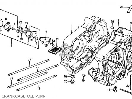 Honda Z50r 1983 (d) Usa parts list partsmanual partsfiche