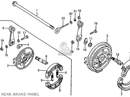 Honda Z50R 1983 (D) USA parts lists and schematics
