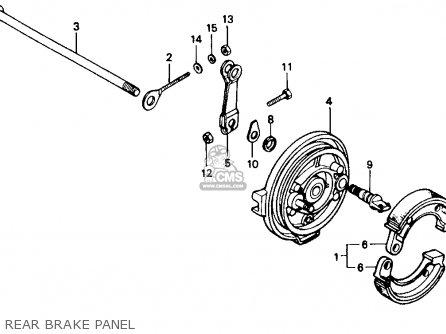 Honda Z50r 1989 (k) Usa parts list partsmanual partsfiche