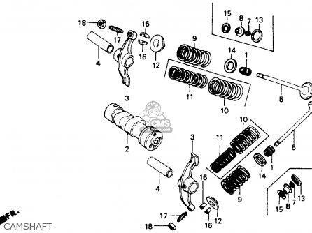 Honda Z50r 1991 Usa parts list partsmanual partsfiche