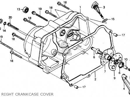 Honda Z50r 1993 (p) Usa parts list partsmanual partsfiche