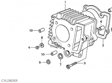 Honda Z50R 1997 (V) USA parts lists and schematics