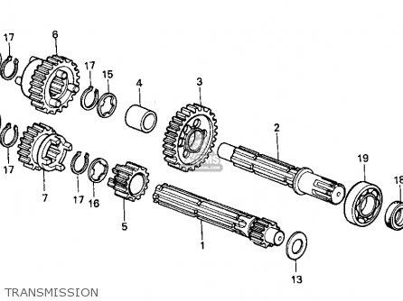 Honda Z50R 1998 (W) USA parts lists and schematics