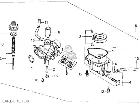 Honda Z50r 1999 (x) Usa parts list partsmanual partsfiche