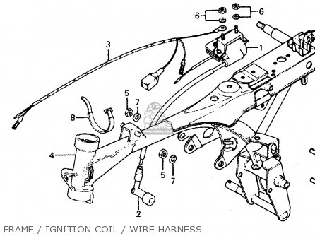 Honda Z50r Monkey 1979 (z) Usa parts list partsmanual