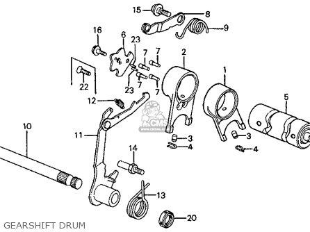 Honda Z50R MONKEY 1979 (Z) USA parts lists and schematics