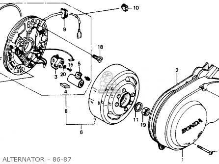 Honda Gc Engine Honda GP Engine Wiring Diagram ~ Odicis