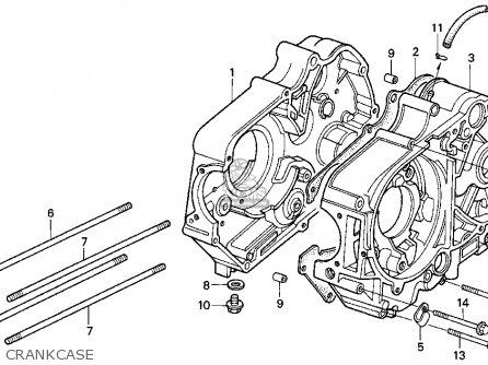 Honda Z50r Monkey & Gorilla 1994 (r) Usa parts list