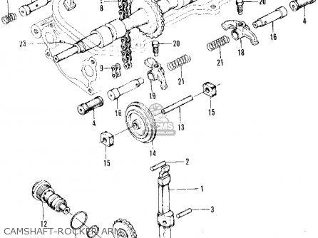 Honda Z600 Coupe 1970 2dr (ka) parts list partsmanual