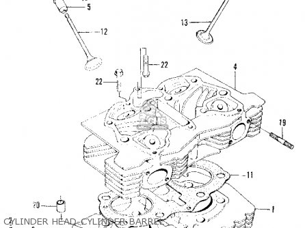 Honda Z600 Coupe 1970 2dr (ka) parts list partsmanual
