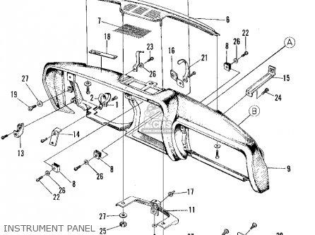 Honda Z600 Coupe 1971 2dr (ka) parts list partsmanual