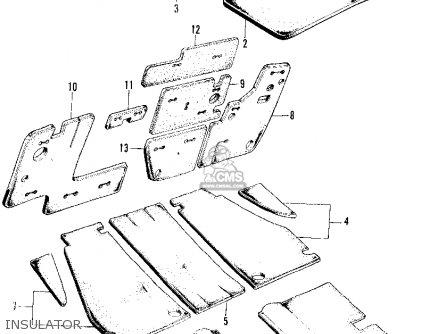 Honda Z600 COUPE 1971 2DR (KA) parts lists and schematics