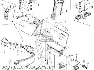 Honda Z600 Coupe 1972 2dr (ka) parts list partsmanual