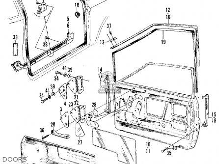 Honda Z600 COUPE 1972 2DR (KA) parts lists and schematics