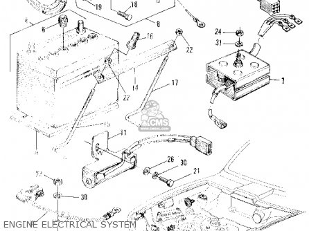 Honda Z600 Coupe 1972 2dr (ka) parts list partsmanual