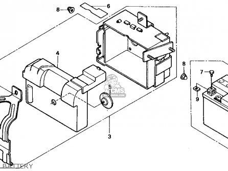 Honda Zb50 1988 (j) Usa parts list partsmanual partsfiche