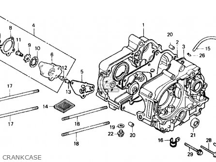Honda ZB50 1988 (J) USA parts lists and schematics