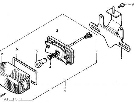 Honda ZB50 1988 (J) USA parts lists and schematics
