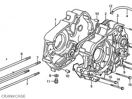 Honda ZN110Y NICE parts lists and schematics