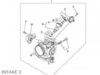 INJECTOR ASSY for XT660Z 2012 11D9 EUROPE TENERE 1L11D