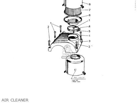 Kawasaki 1966 A1 Samurai parts list partsmanual partsfiche