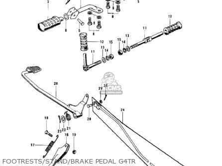Kawasaki 1970 G4tr Trail Boss parts list partsmanual