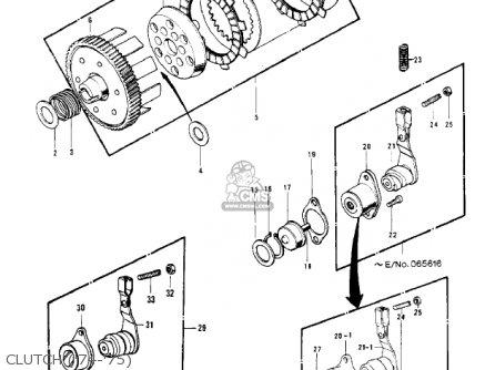Kawasaki 1972 G4tr-b parts list partsmanual partsfiche