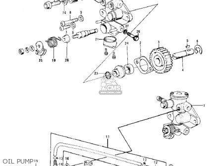 Kawasaki 1977 Kd100-m2 parts list partsmanual partsfiche