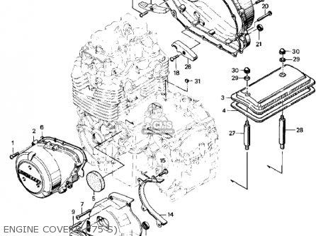 Kawasaki 1977 Kz400-s3 Special parts list partsmanual