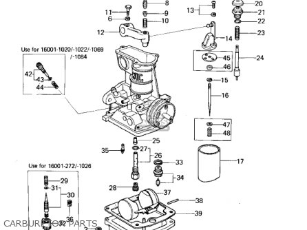 Kawasaki 1977 Kz650-b1 parts list partsmanual partsfiche