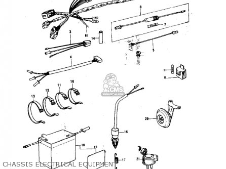 Kawasaki 1978 Ke175-b3 Ke175 parts list partsmanual partsfiche
