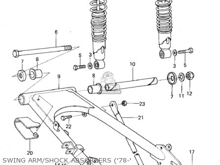 Kawasaki 1978 Kl250-a1a Klr250 parts list partsmanual
