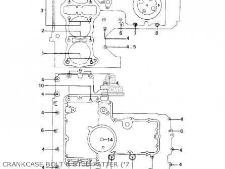 Kawasaki 1978 Kz1000-a2 Kz1000 parts list partsmanual