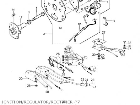 Kawasaki 1978 Kz1000-d1 Z1r parts list partsmanual partsfiche