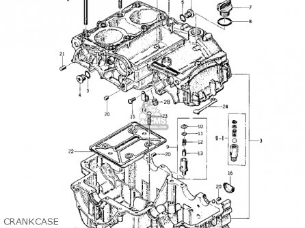 Kawasaki 1978 Kz400-a2 parts list partsmanual partsfiche