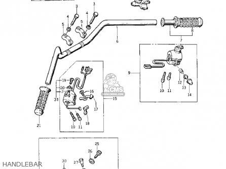 Kawasaki 1978 Kz400-a2 parts list partsmanual partsfiche