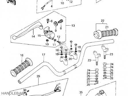 Kawasaki 1978 Kz400-c1 parts list partsmanual partsfiche