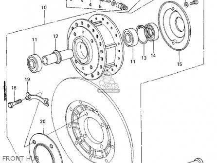 Kawasaki 1978 Kz650-b2 parts list partsmanual partsfiche