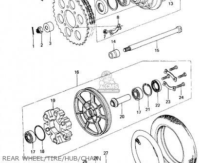 Kawasaki 1978 Kz650-d1 Sr parts list partsmanual partsfiche